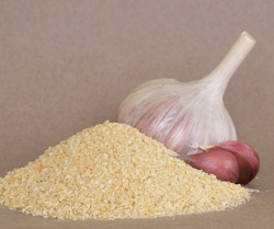 Dried Organic Garlic Granules